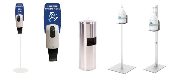 Hand Sanitizing Stations