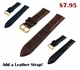 Rose Gold Steel Metal Bracelet Replacement Watch Band Strap Push Button Clasp #5018
