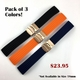 Black Silicone 20mm Watch Band Strap Rose Gold Double Locking Clasp #4011RG