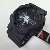 Black Casio G-Shock Heathered Analog Digital Watch GA110HT-1A