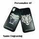iPhone & Samsung Aluminum Metal Cell Phone Case Cover Viking Helmet #0293