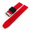 Huawei 2 Black & Red Double Side Rubber Silicone Replacement Watch Band Strap Belt #4064