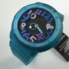 Blue Green Transparent Casio Baby-G Ani Digi Watch BGA131-3B