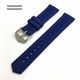 Blue Silicone Replacement Watch Band Strap #4413