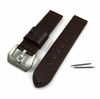 Huawei 2 Brown Genuine Leather Replacement Watch Band Strap Matte Steel Buckle #1014