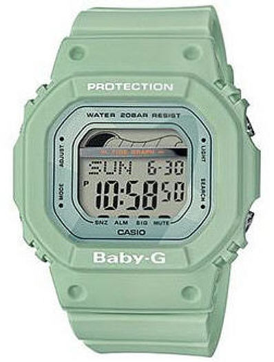 Casio Baby-G Moon and Tide Green Color Sport Watch BLX560-3C