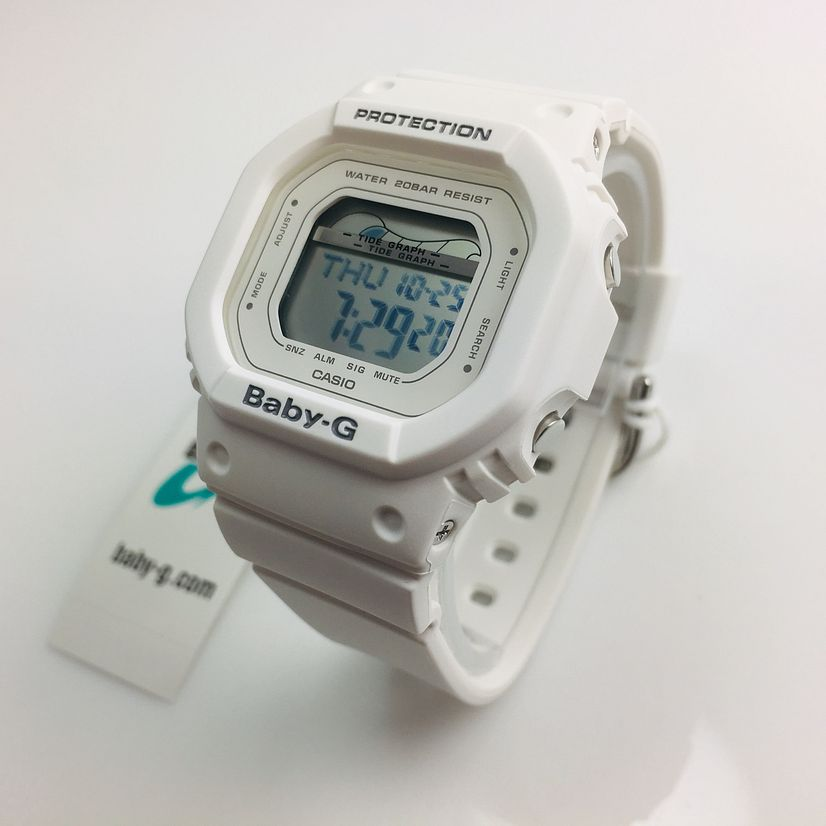 Casio Baby-G Moon and Tide White Color Sport Watch BLX560-7 BLX560-7C