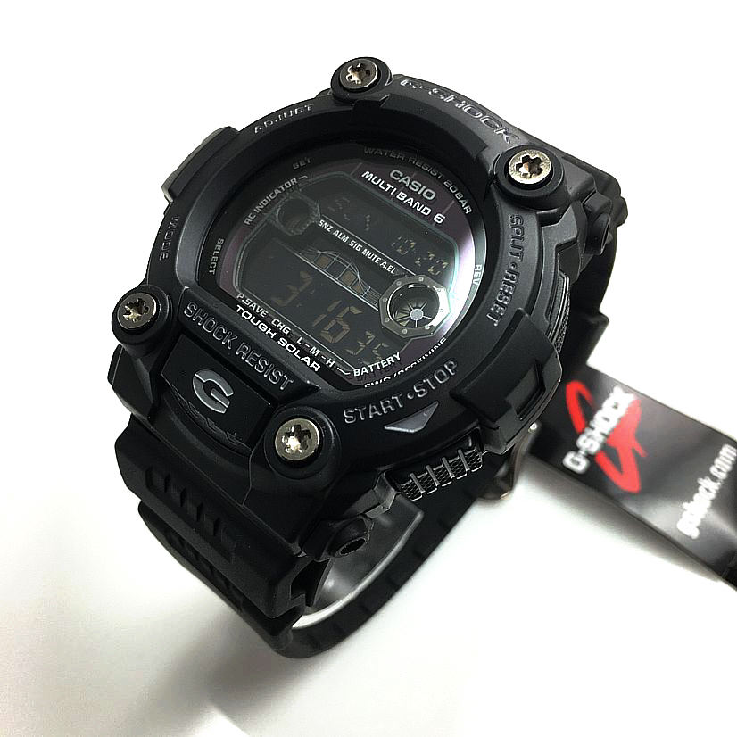 Casio G-Shock Blackout Solar Atomic Watch GW7900B-1
