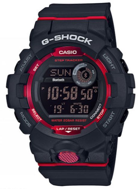 Casio G-Shock Bluetooth Black Sports Chronograph Watch GBD800-1