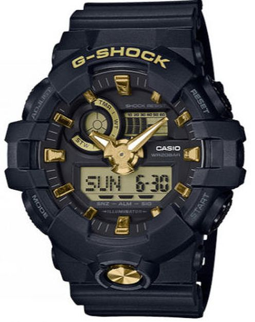 Casio G-Shock Digital Analog Military Style Watch GA710B-1A9