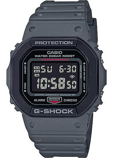 Casio G-Shock DW-5610SU Gray Classis Digital Shock Resistant Watch DW5610SU-8
