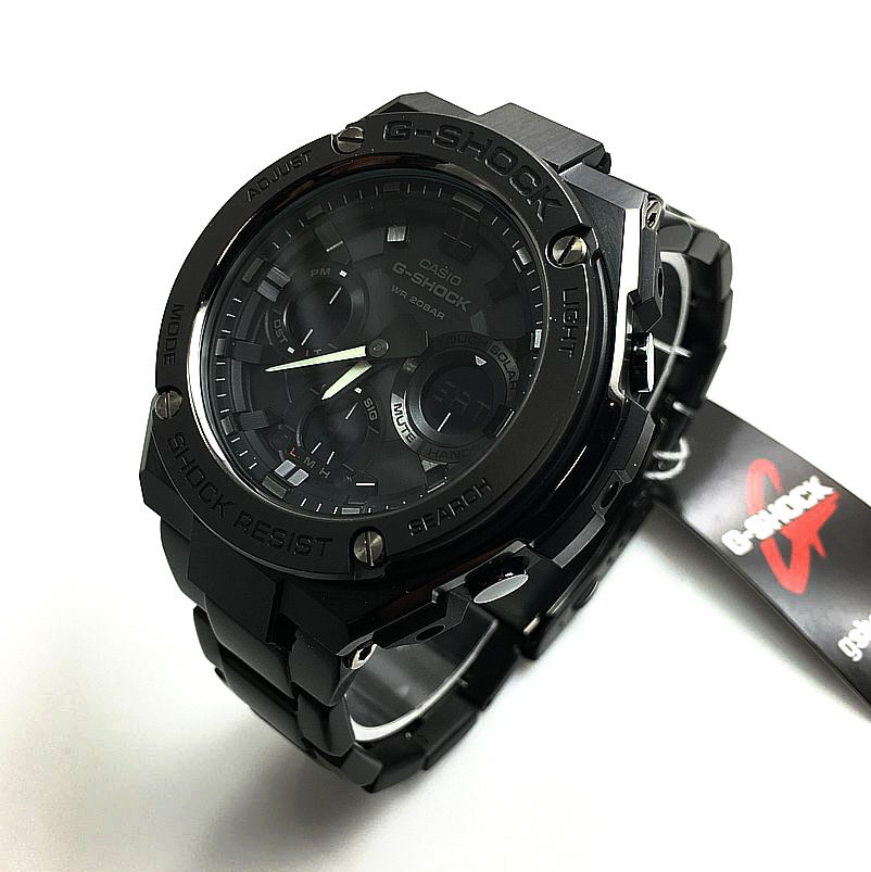 Casio G-Shock G-Steel Digital Analog Watch GSTS110BD-1B