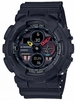 Casio G-Shock GA-140 Black Digital Analog Military Style Watch GA140BMC-1A
