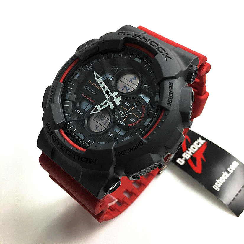 Casio G-Shock GA-140 Digital Analog Military Style Watch GA140-4A