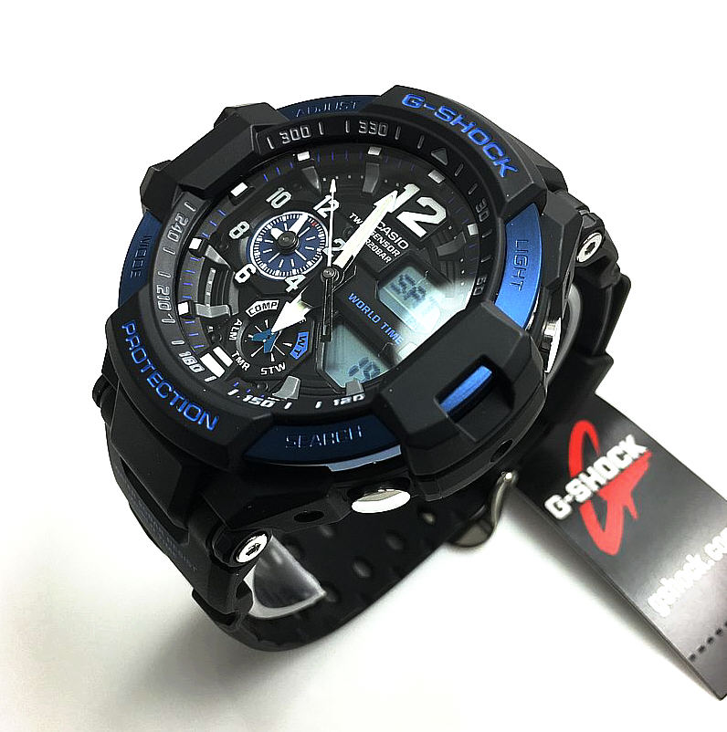 Casio G-Shock Gravitymaster Compass Watch GA1100-2B
