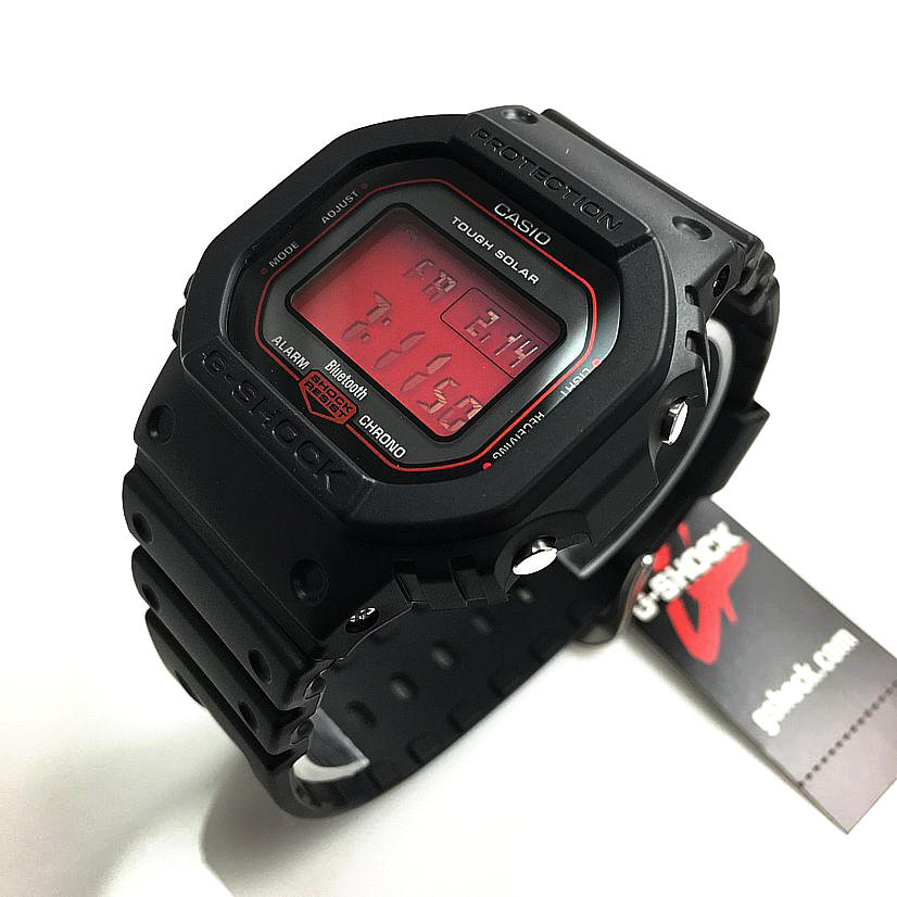 Casio G-Shock GWB-5600AR Solar Atomic Bluetooth Watch GWB5600AR-1