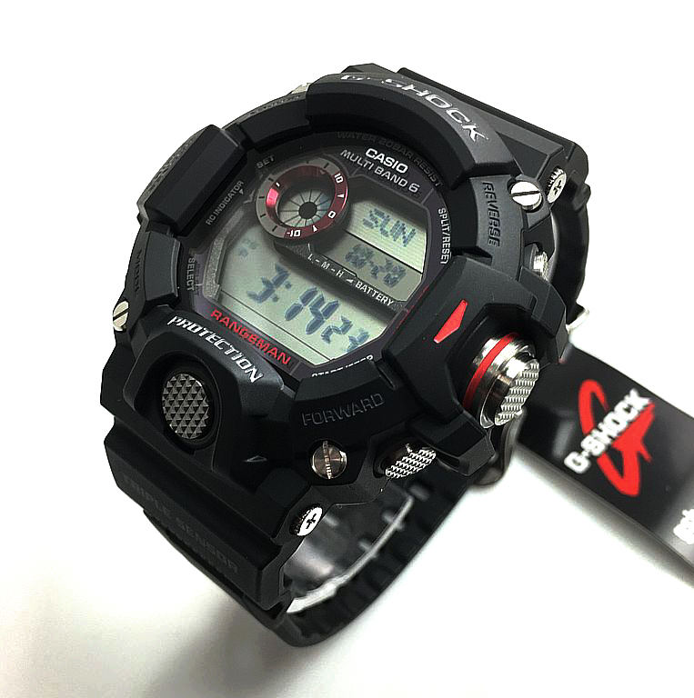 Casio G-Shock Master Of G Rangeman Solar Atomic Watch GW9400-1