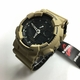 Casio G-Shock Sand Beige Digital Analog Watch GA100L-8A GA-100L-8ACR