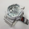 Casio G-Shock White Digital Analog Watch GA110LP-7A