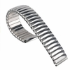 Timex Compatible Stainless Steel Metal Elastic Stretch Expansion Replacement Watch Band Strap #5061