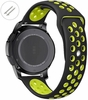 Coach Compatible Black & Green Sport Silicone Replacement Watch Band Strap Quick Release Pins #4074