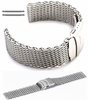 Coach Compatible Stainless Steel Metal Shark Mesh Bracelet Watch Band Strap Double Locking Clasp #5030