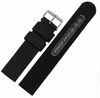 Lacoste Compatible Black Canvas Nylon Fabric Watch Band Strap Army Military Style Steel Buckle #3051