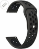 Emporio Armani Compatible Black Sports Silicone Replacement Watch Band Strap Quick Release Pins #4071