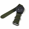 Heavy Duty Army Green Nylon Replacement Ballistic Military Watch Band Strap #3005