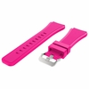 Huawei 2 Hot Pink 22 mm Rubber Silicone Replacement Watch Band Strap Quick Release Pins #4053