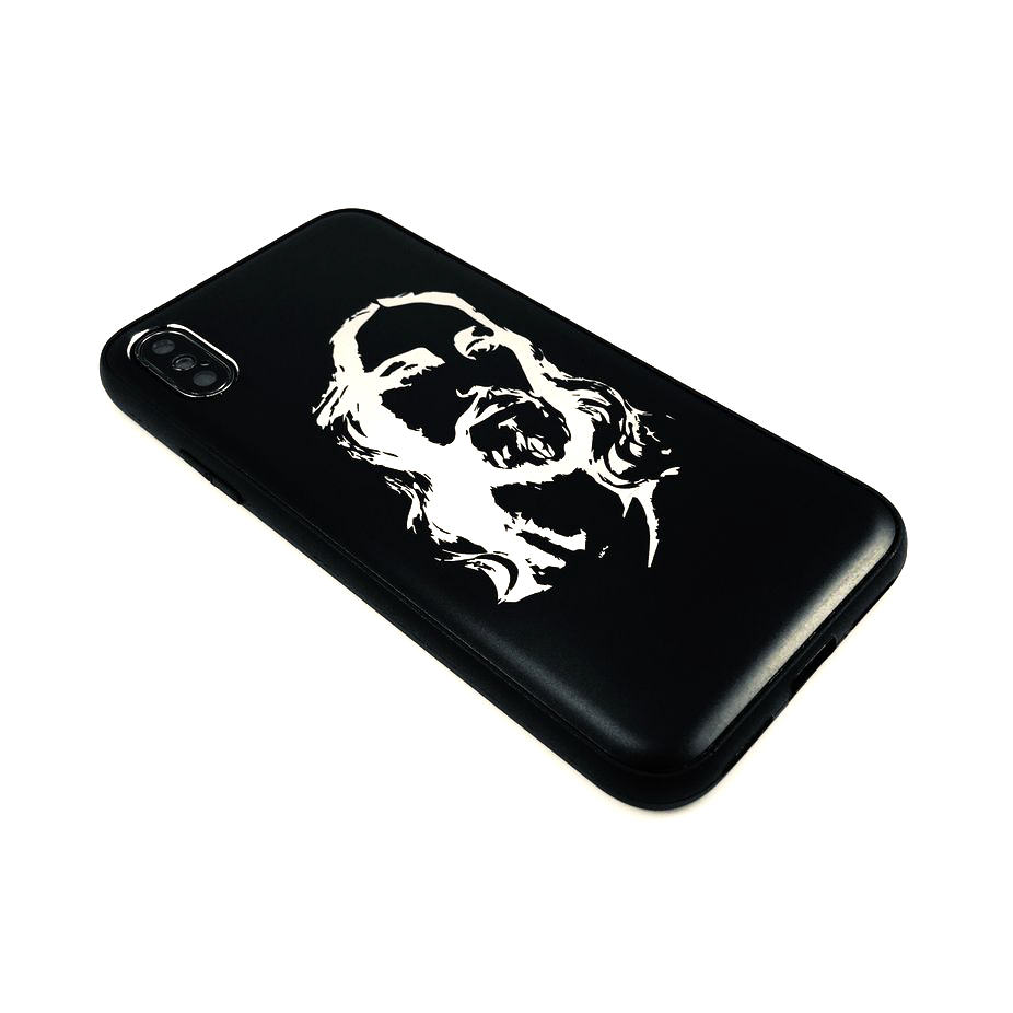 Iphone & Samsung Aluminum Metal Cell Phone Case Cover Jesus Christ Face #0133