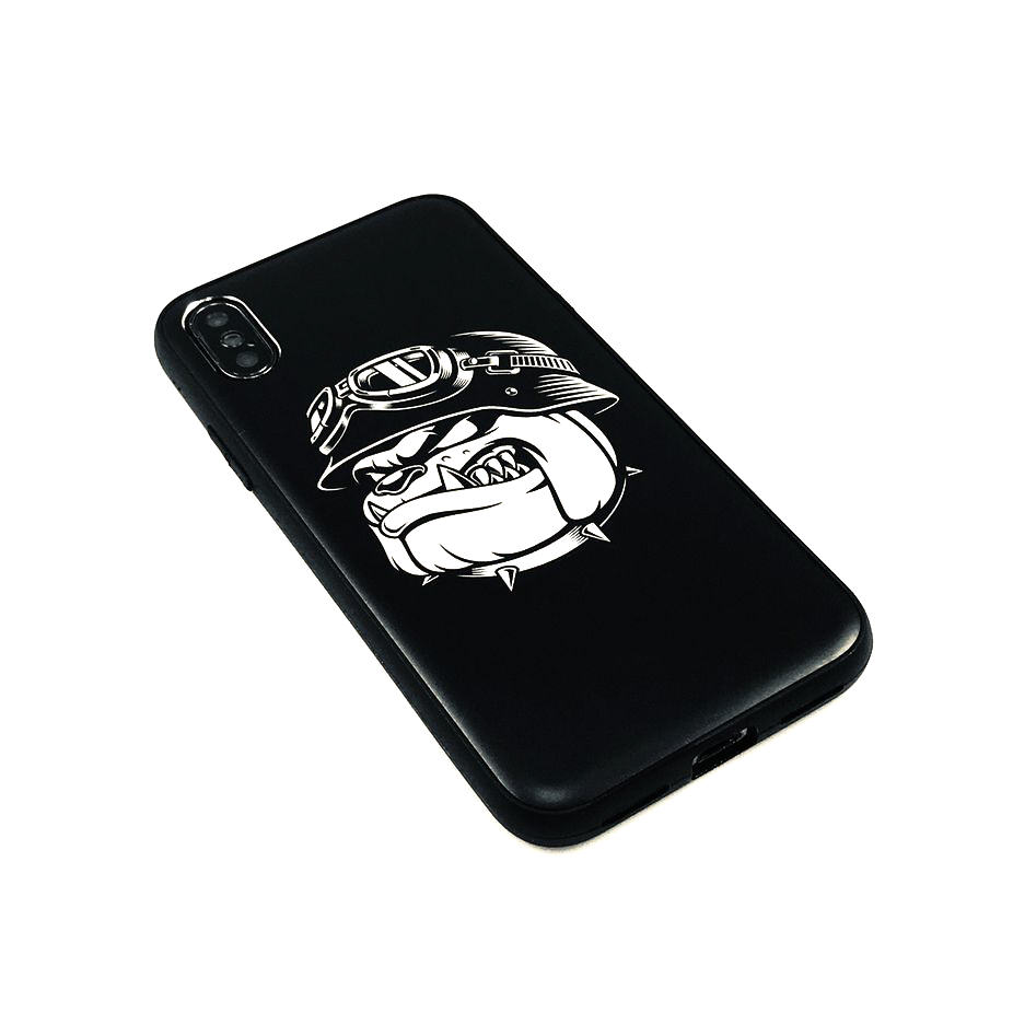 Iphone & Samsung Aluminum Metal Cell Phone Case Cover Military Army Bulldog 0206