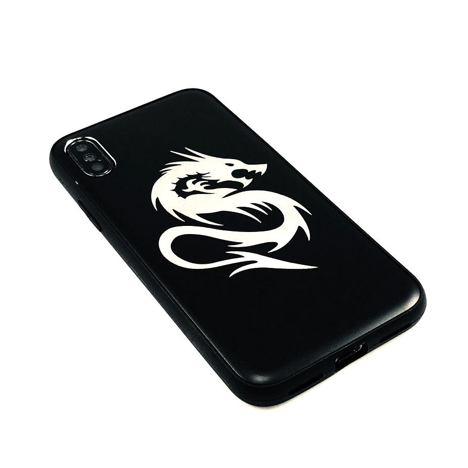 iPhone & Samsung Aluminum Metal Cell Phone Case Cover Skin Dragon #0216