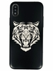 iPhone & Samsung Metal Aluminum Cell Phone Case Cover Tiger's Head Face #0084