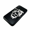 iPhone & Samsung Metal Aluminum Phone Case Cover Skin Lion Face Head #0078