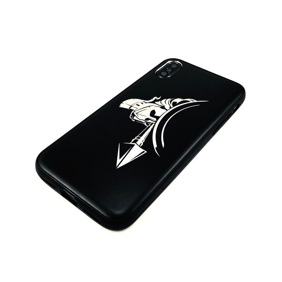 iPhone & Samsung Metal Aluminum Phone Case Cover Spartan Warrior Soldier #0047