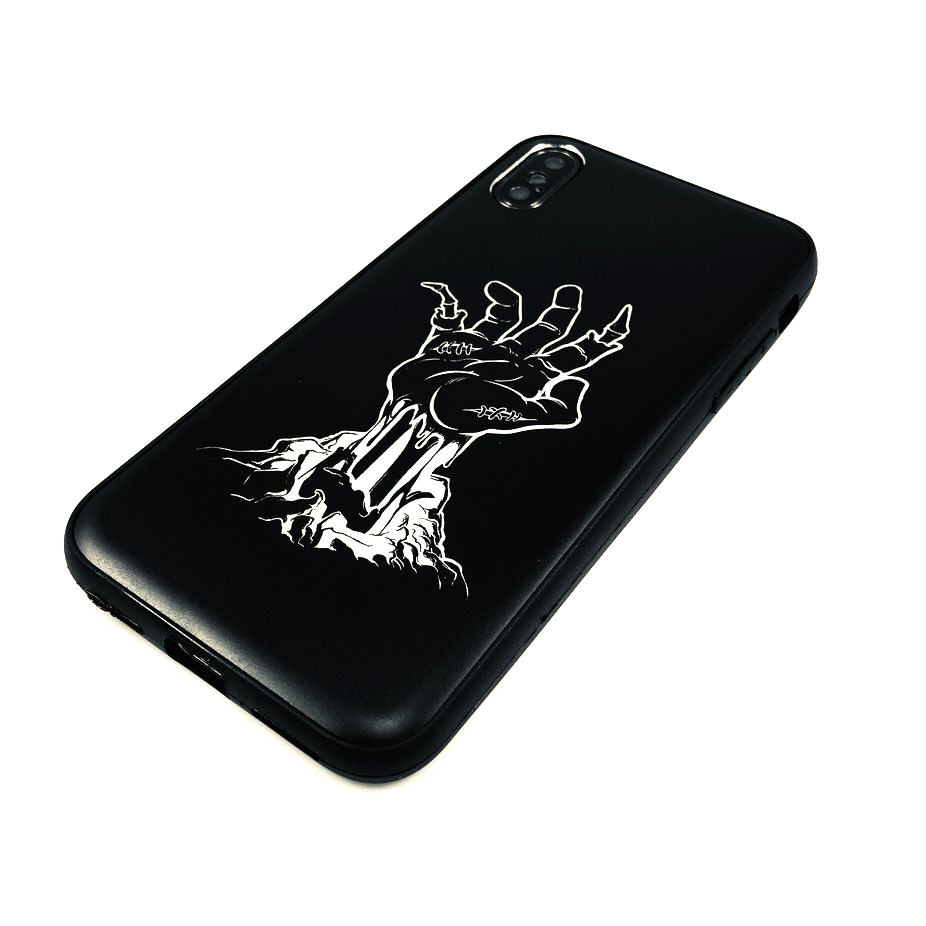 iPhone & Samsung Phone Case Cover Zombie Hand Coming up From Under Ground #0296