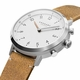 Kronaby Sweden Nord 41mm High End Hybrid Brown leather Band Smart Watch S3128-1