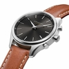 Kronaby Sweden Sekel 38mm High End Hybrid Brown leather Band Smart Watch S2749-1