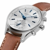 Kronaby Sweden Sekel 41mm High End Hybrid Brown leather Band Smart Watch S3122-1
