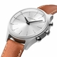 Kronaby Sweden Sekel 41mm High End Hybrid Brown leather Smart Watch S3125-1