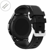 Longines Compatible Black Rubber Silicone Replacement Watch Band Strap Quick Release Pins #4041