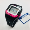 Men's Casio 10 Year Battery Black And Pink Resin Watch SDB100-1BD SDB100-1B