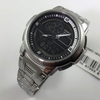 Men's Casio Analog Digital Thermometer Watch AQF-102WD-1BV AQF102WD-1BV 1B