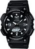 Men's Casio Black Resin Band Tough Solar Watch AQS810W-1AV