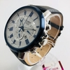 Men's Casio Chronograph Brown Leather Band 48 mm. Watch BEM520BUL-7A1
