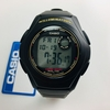 Men's Casio Digital Basic Black Silicone Strap Watch F200W-9A