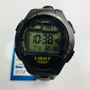 Men's Casio Digital Black Silicone 42 mm Watch W734-9AV