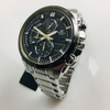 Men's Casio Edifice Solar Power Chronograph Watch EQS600DB-1A9 EQS-600DB-1A9CR