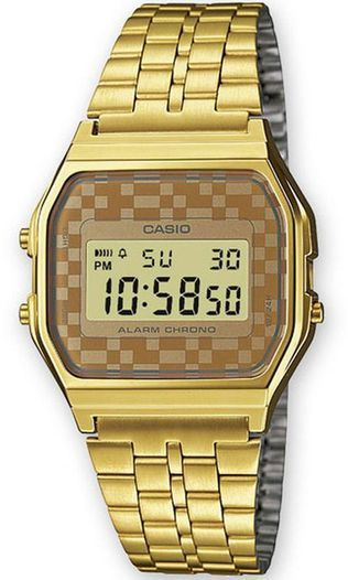 Men's Casio Gold Tone Classic Digital Watch A159WGEA-9